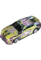 imagen Coche Racing Radio Control The Western Overload Número 30 6x18x8 cm