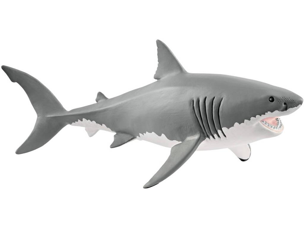 Tubarão Branco Schleich 14809