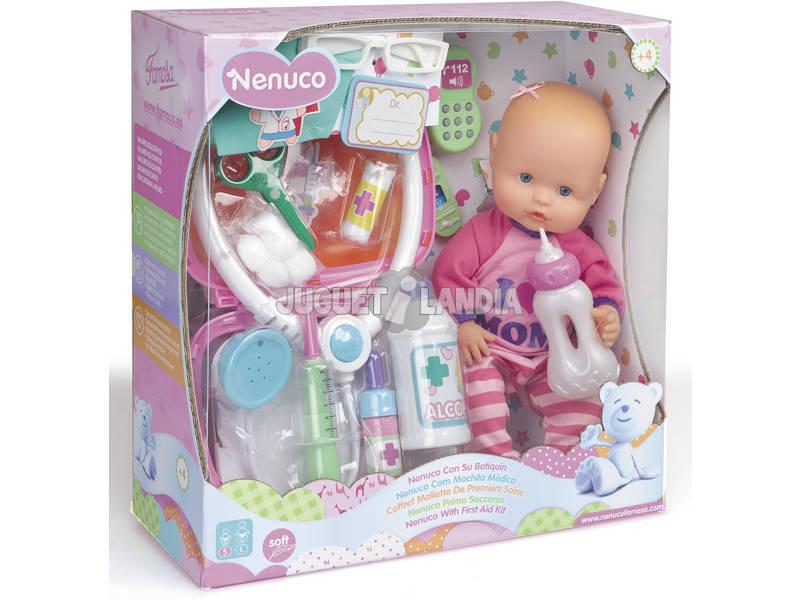 Boneco Nenuco Botequim Primeiros Socorros Com Acessórios 27 cm Famosa 700012980