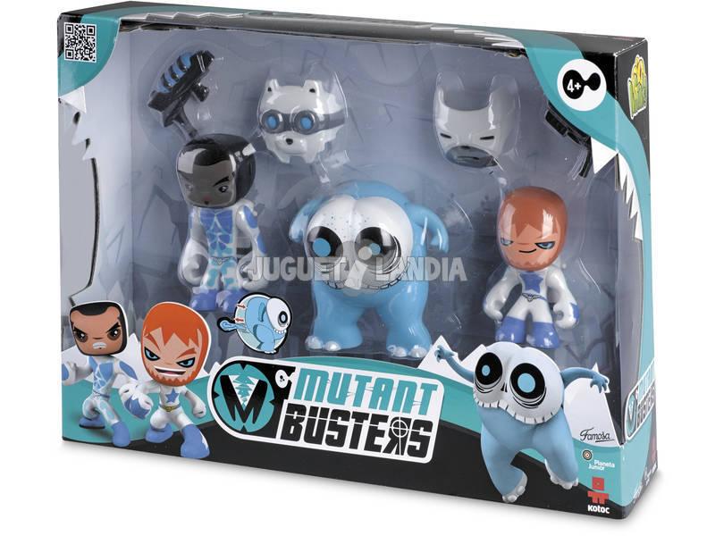 Mutante Busters Pack 3 Figuras Neve Sortido Famosa 700012142