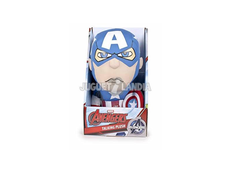 Peluche Marvel 25 cm. Surtido Con Sonido Famosa 760014301