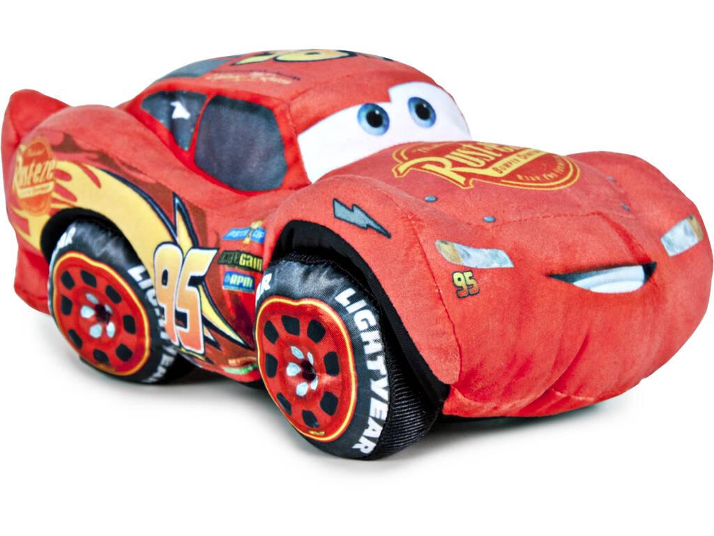 Peluche Cars 3 Saetta McQueen 17 cm Famosa 760014880