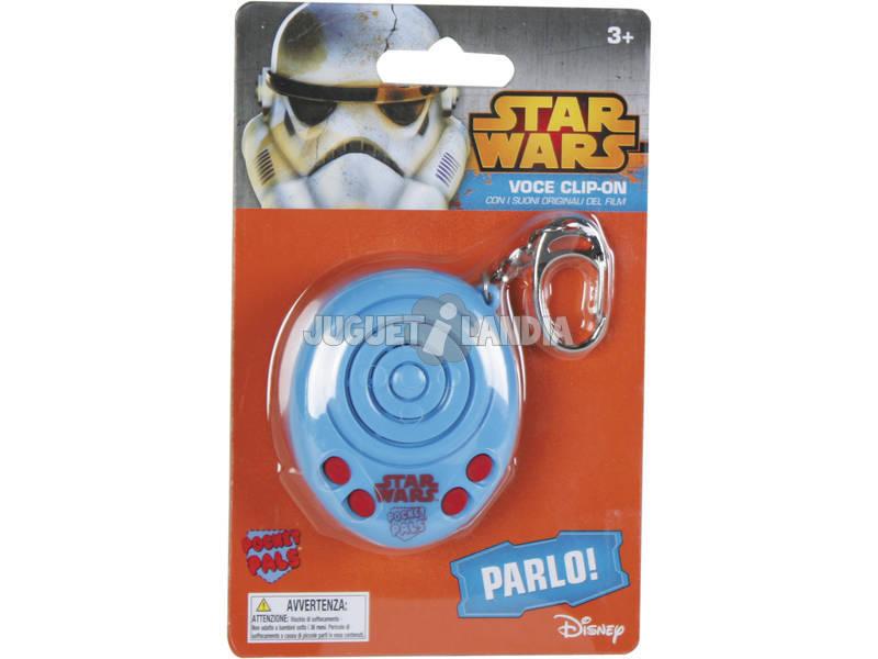 Star Wars Sound Blaster Portachiavi Assortimento 6 cm Famosa 760012848