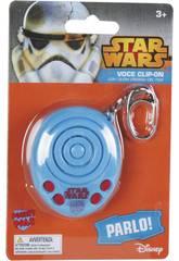 Star Wars Porte-Clés Electronique avec Sons 6 cm Famosa 760012848