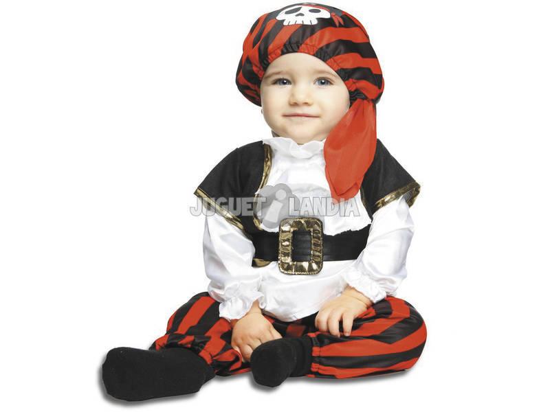Disfarce Bebé M Pequeno Pirata