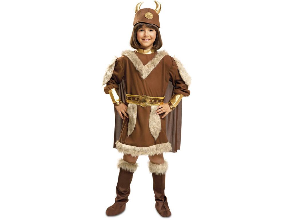 Costume Ragazza XL Vichingo
