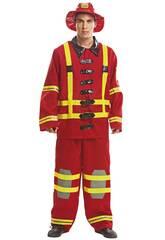 Costume Uomo S Vigile del Fuoco