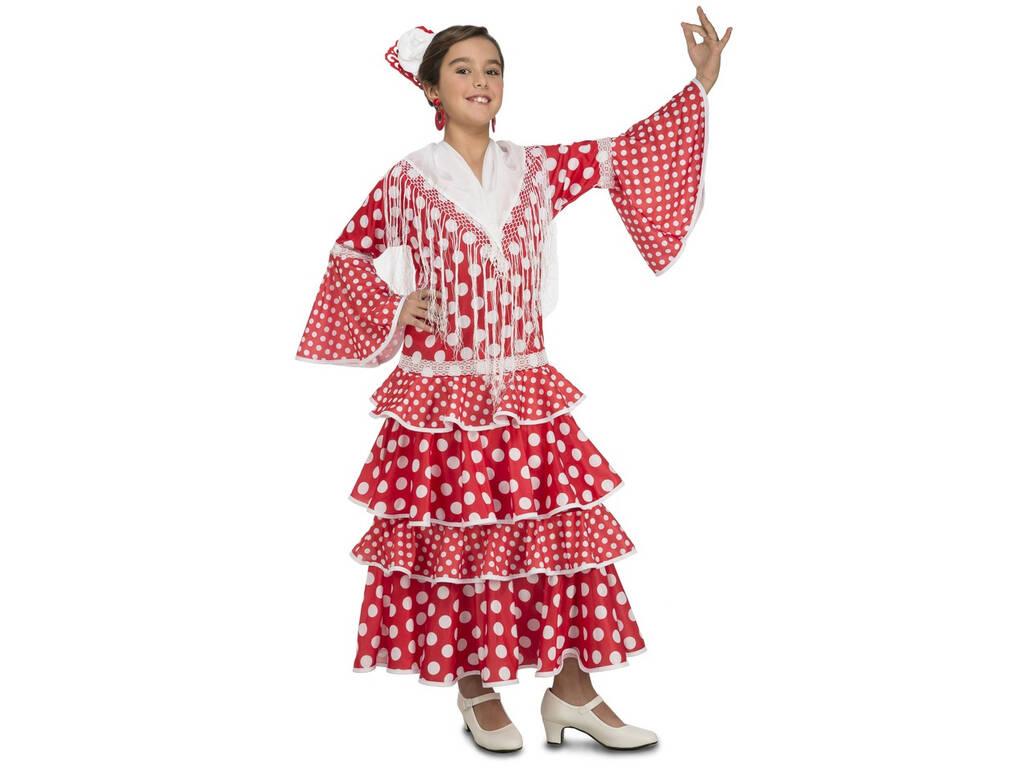 Disfarce Menina XL Flamenca Sevilha