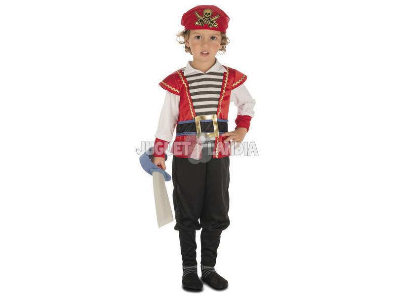 Disfarce Bebé L Pirata