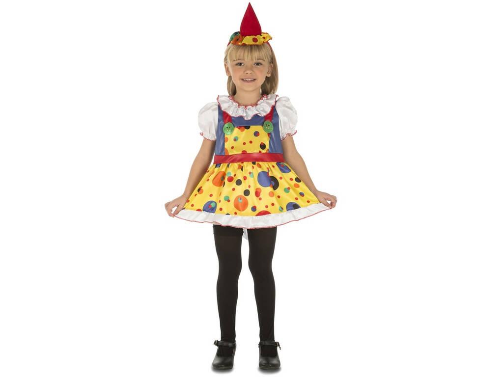 Costume Bimba M Pagliaccio