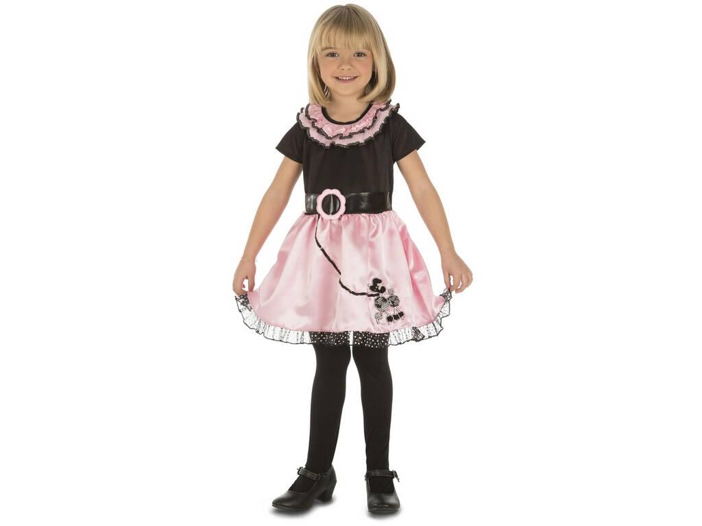 Costume Bimba S Signorina Pink