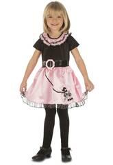 Disfraz Niña S Señorita Pink