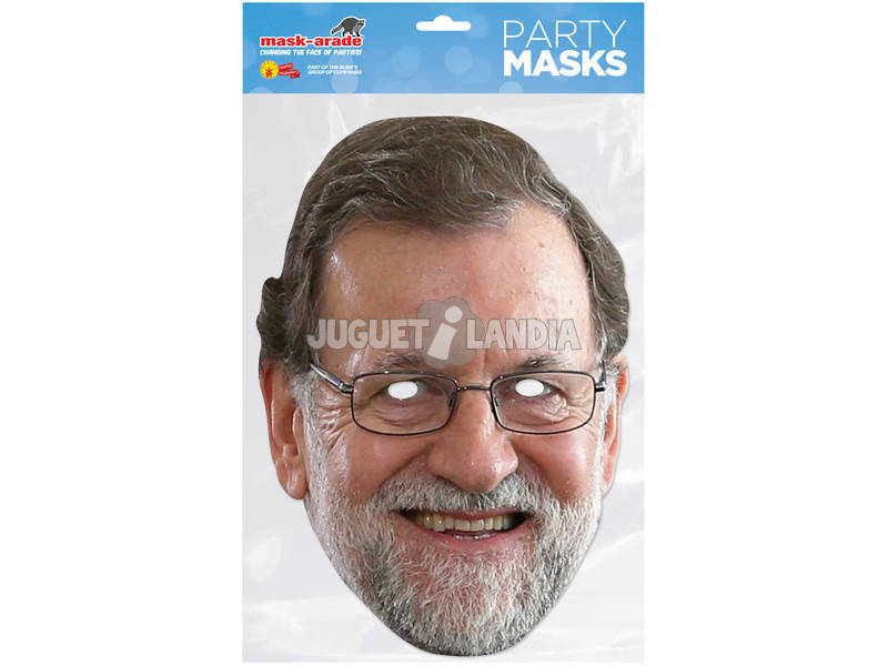 Maschera Mariano Rajoy Rubies MRAJO01
