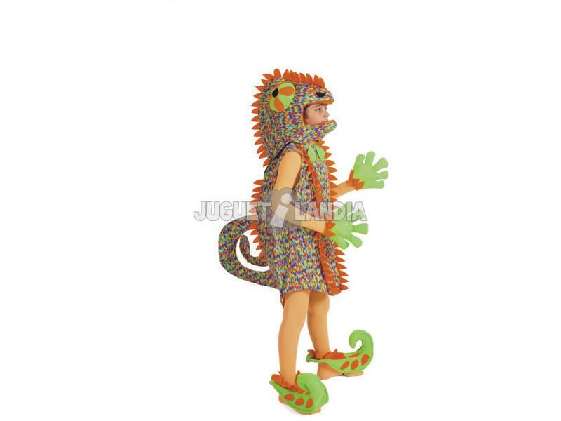 Disfraz Niño Camaleón Talla S Nines D'Onil D846-1