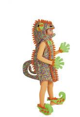 Camaleão Criança Costume Tamanho L Nines D'Onil D846-3
