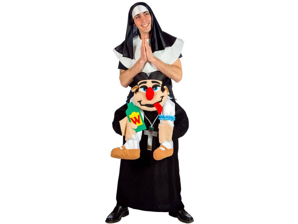 Disfraz Adulto Cura y Monja Ninos D'Onil D8951