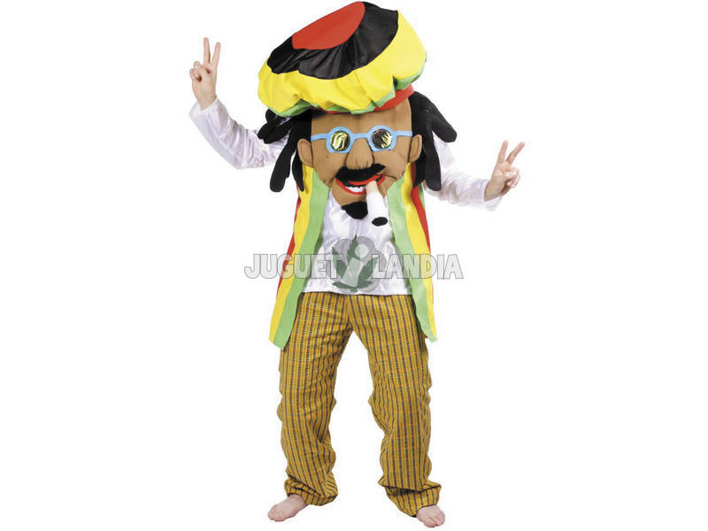 Fato Adulto Rastafari Nines D'Onil D5017