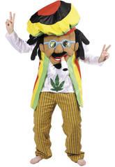Disfraz Adulto Rastafari Nines D'Onil D5017