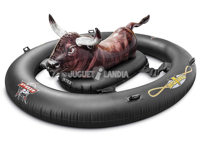 Toro Rodeo Cavalcabile 239x196x81 cm. Inflatabull Intex 56280