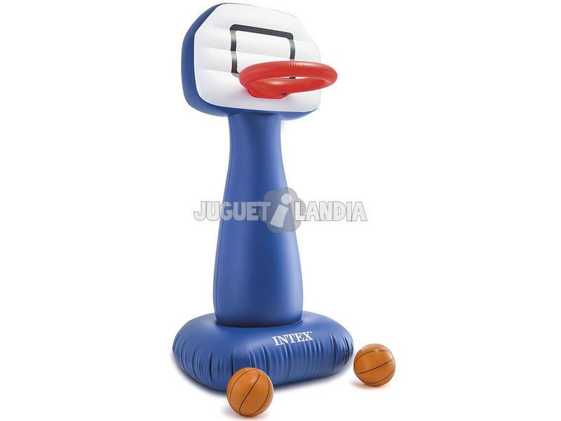 Gioco Basket Gonfiabile 104x97x208 cm. Intex 57502NP