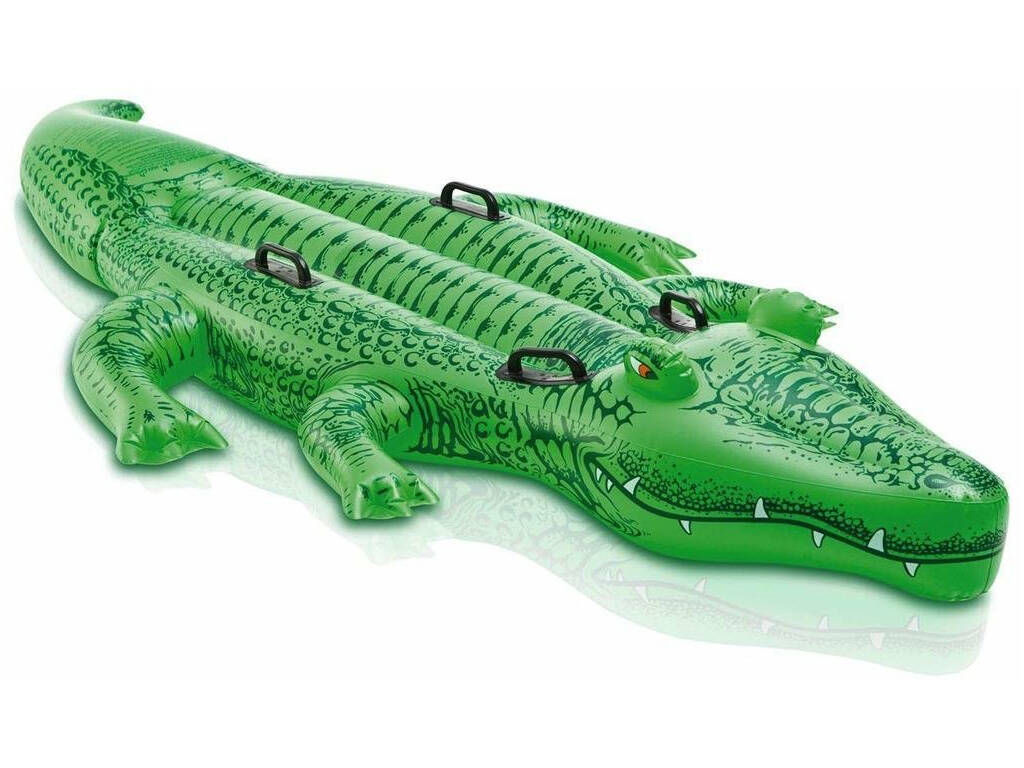 Alligator Gigante Hinchable 203x114 Cm. Intex 58562