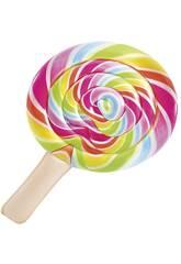 Materassino gonfiabile Lollipop Stampa realistica da 208x135 cm Intex 58753