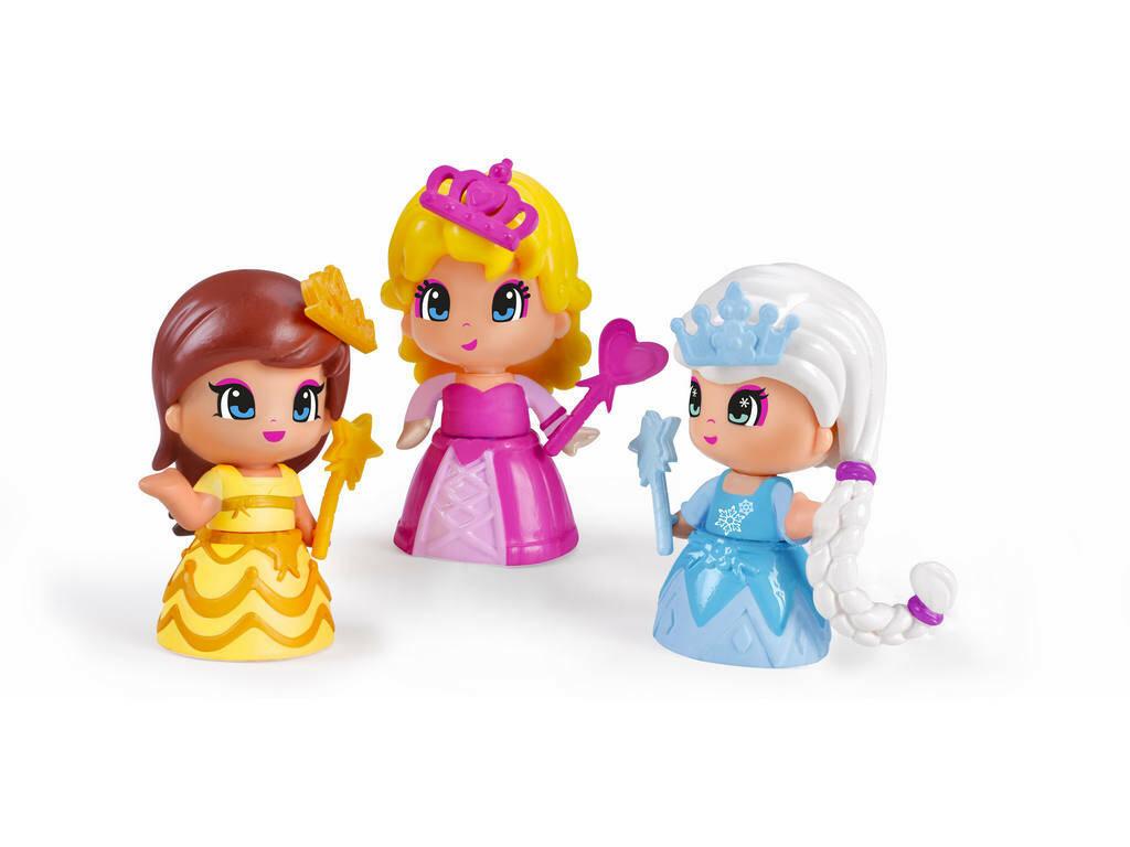Pinypon Pack 3 Princesas Famosa 700014094