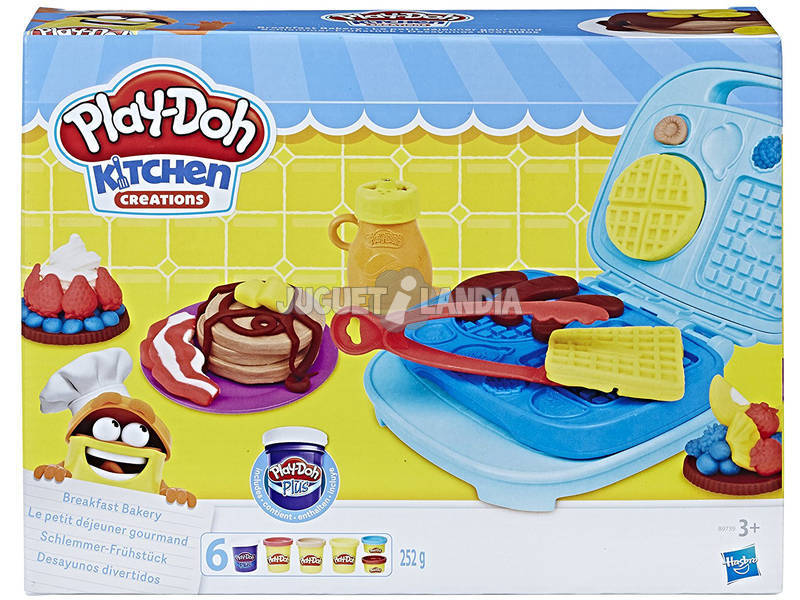 Play-Doh Diversão Breakfasts Hasbro B9739
