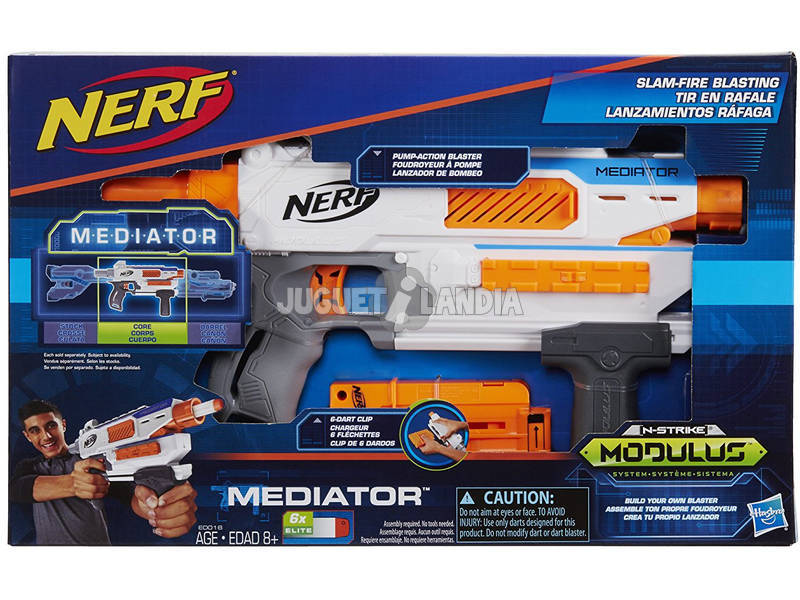 Nerf N-Strike Modulus Mediator Hasbro E0016