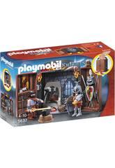 Playmobil Coffre Chevalier et Forgeron 5637