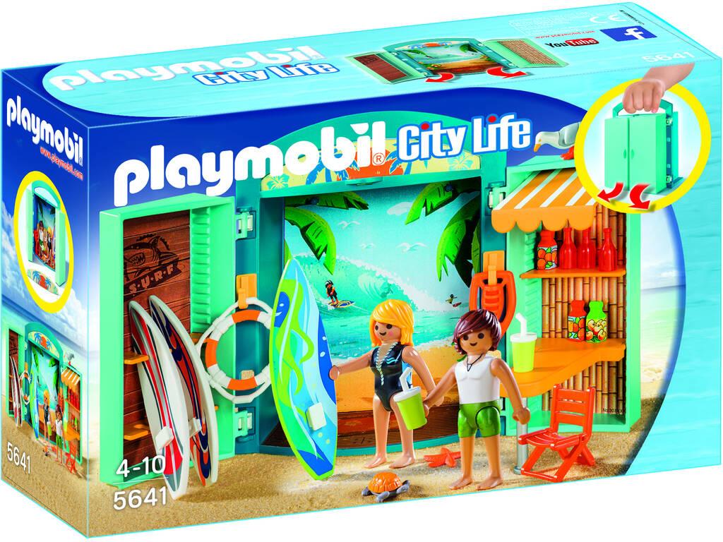Playmobil Cofre Tienda de Surf 5641