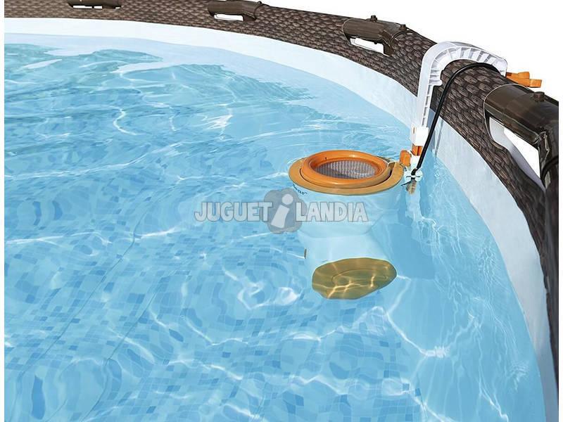 Piscina fuori terra 488x122 cm bestway 56666 juguetilandia for Comprare piscina fuori terra
