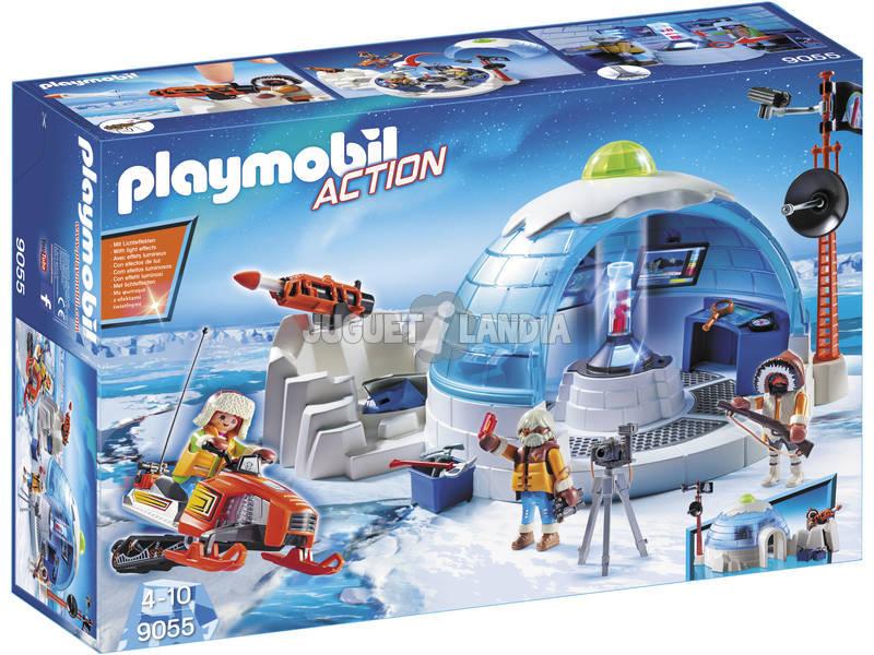 Quartel de Playmobil Polar de Exploradores 9055