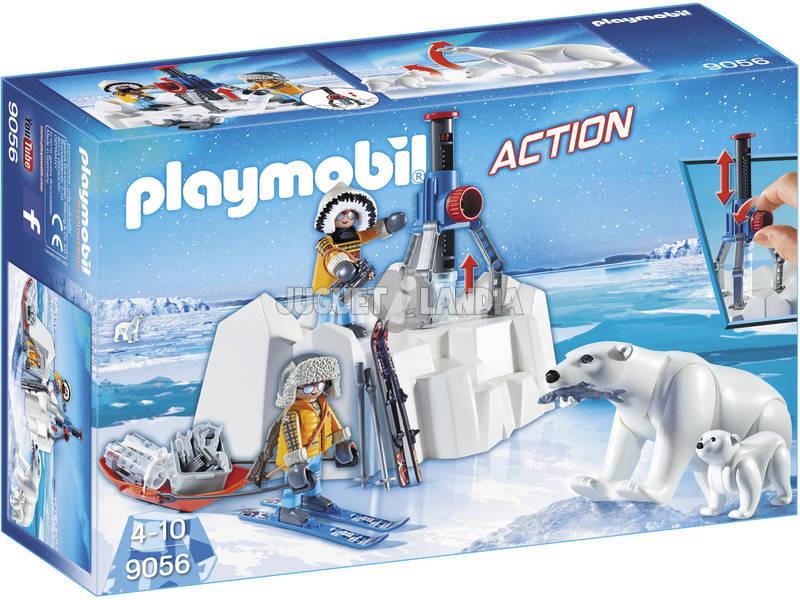 Exploradores Playmobil Com Ursos Polares 9056