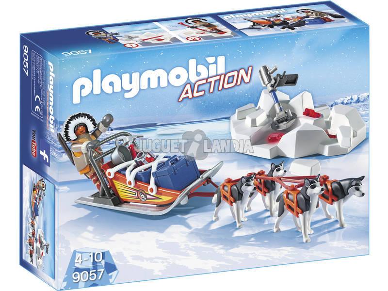 Playmobil Trineo De Huskys 9057