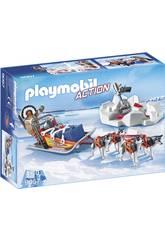 imagen Playmobil Trineo De Huskys 9057