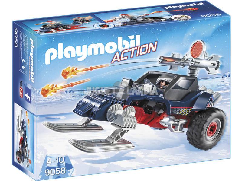 Playmobil Predatore Con Motoslitta 9058
