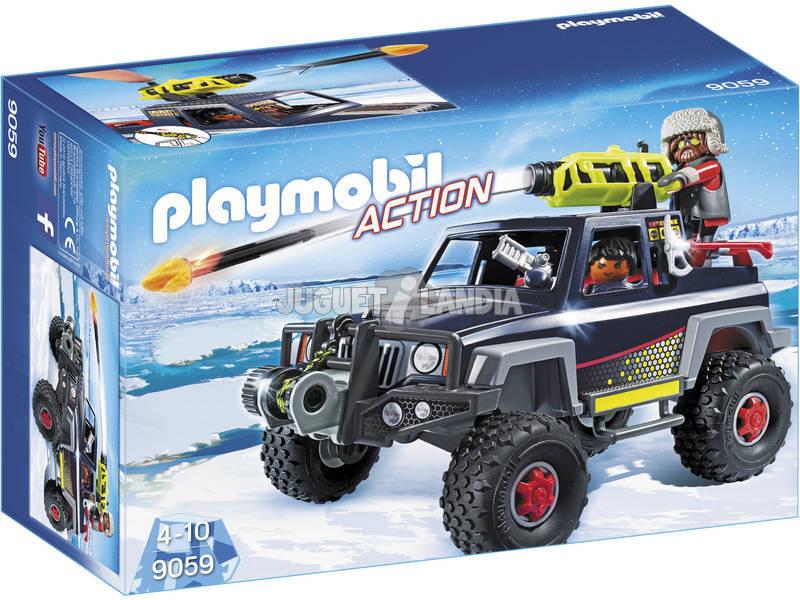 Playmobil Todoterreno Con Piratas Del Hielo 9059
