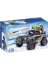 Playmobil Véhicule Tout-terrain avec Pirates des Glaces 9059