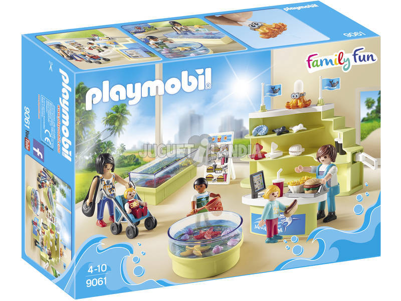 Playmobil Negozio dell'Acquario 9061