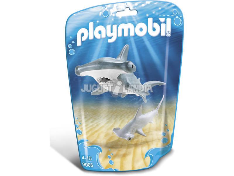 Playmobil Tiburón Martillo y Bebé 9065