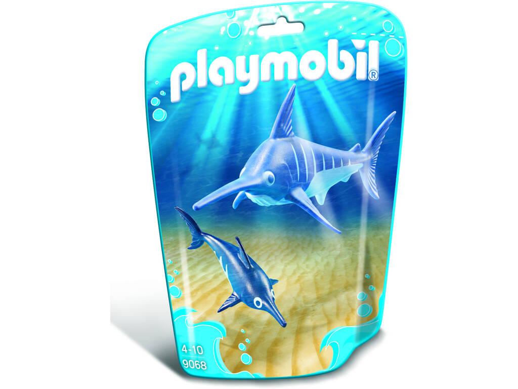 Playmobil Pez Espada con Bebé 9068
