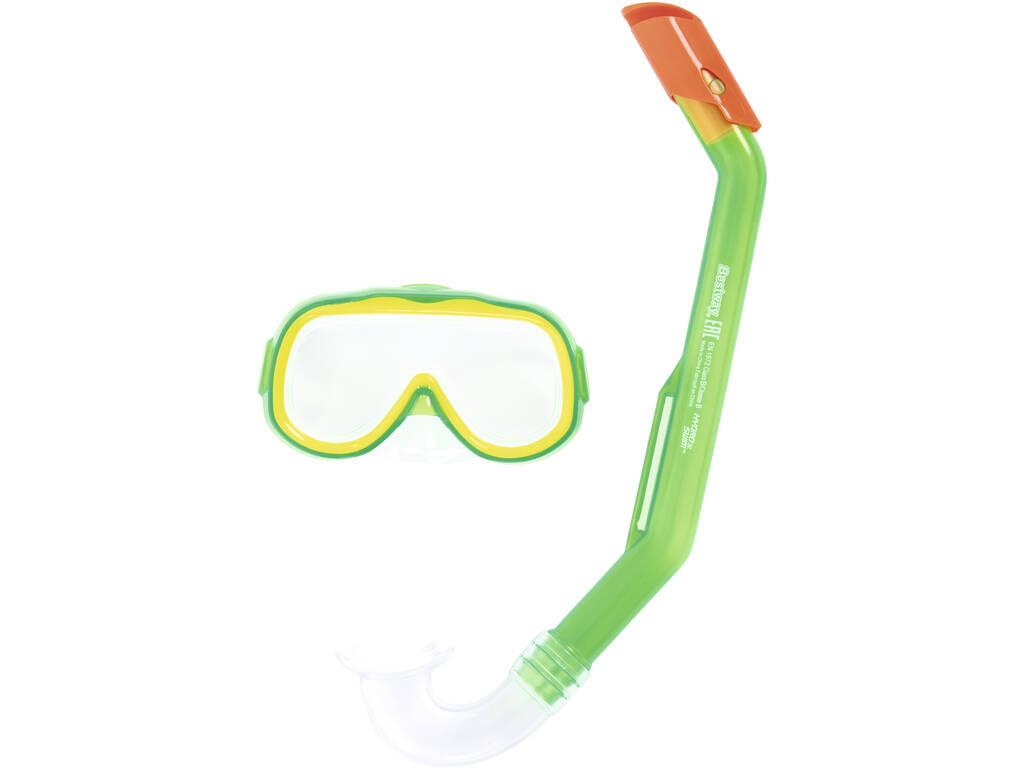 Óculos de Mergulho e Tubo de Pequenos Exploradores Bestway 24024