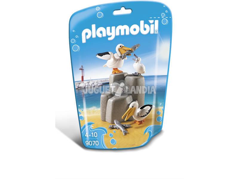 Playmobil Família De Pelicanos 9070