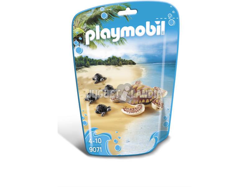 Playmobil FamilyFun Tartaruga con cuccioli 9071