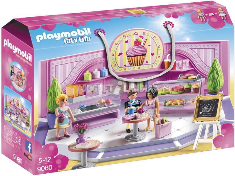 Playmobil City Life Cupcake Caffé 9080