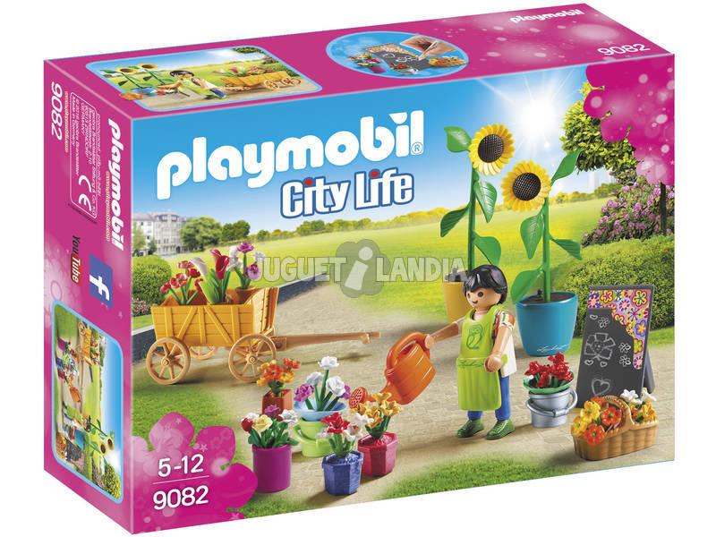 Loja de flores Playmobil 9082
