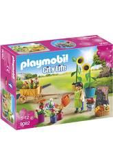 imagen Playmobil Tienda De Flores 9082