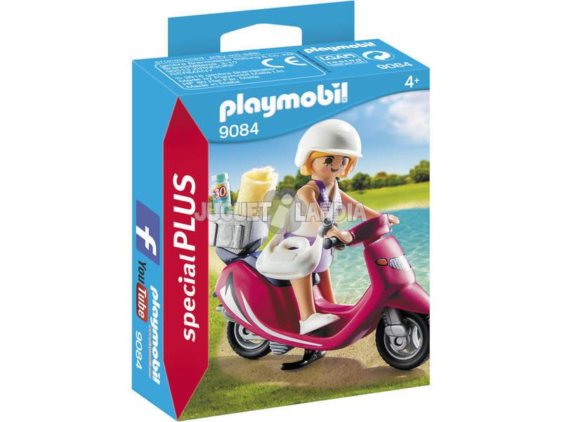 Playmobil Ragazza con Scooter 9084