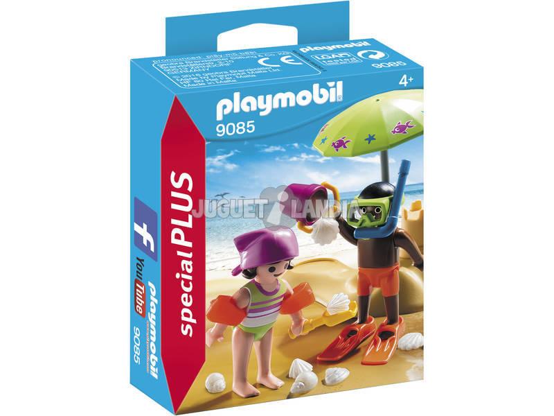 Playmobil Bambini in spiaggia 9085